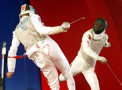 Download this Chinese French Fencers Show Culture Festival picture