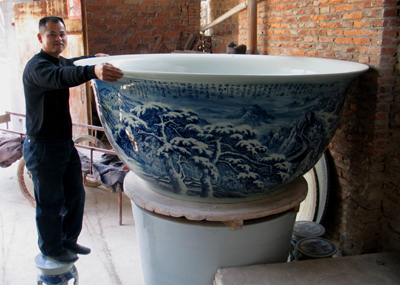 People S Daily Online Huge Bowl Aimed At Guinness Record