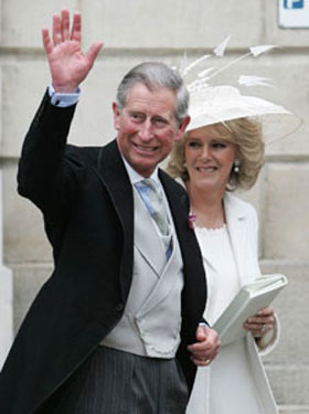 peoples daily online prince charles ties knot with camilla