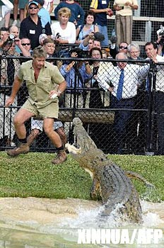 a biography and life work of steve irwin a famous crocodile hunter Steve irwin, nicknamed the crocodile hunter, was an australian television personality, wildlife expert, and conservationistirwin achieved worldwide fame from the television series the crocodile hunter, an internationally broadcast wildlife documentary series which he co-hosted with his wife terri.