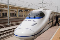 Xinjiang's first high-speed railway goes on trial run
