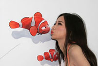 3D Sea-life Themed Art Garage unveiled in Zhengzhou