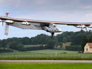 World's largest solar-powered plane makes maiden fly