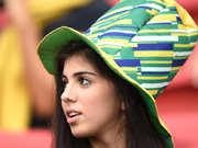 In Pictures: Female fans of World Cup
