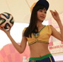 Football babies, Samba dancers embrace 'World Cup'