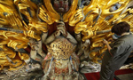 Secrets unveiled in restoration of the 800-yr-old Buddha