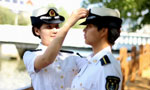 The first female Uyghur students in China's naval academy