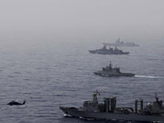 China, EU fleets hold joint anti-piracy drills