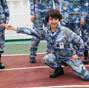 A glimpse of female crew of Liaoning aircraft carrier