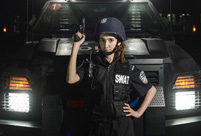 From girly girl to tough special police officer