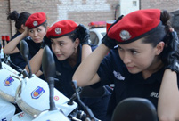 Focus on 1st female patrol team in Turpan