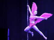 The 4th Chinese National Pole Dance Championship held in Tianjin