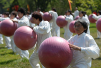 National Fitness Day celebrated around China