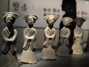Relics of the Six Dynasties (AD 220–589) displayed in Nanjing
