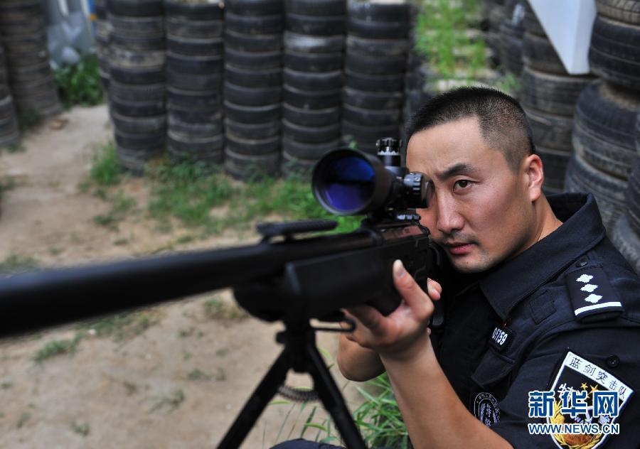 Story Of Outstanding Beijing Swat Sniper Br Peoples Daily Online