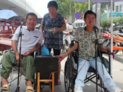 ALS brothers sing for sufferings and chant for life