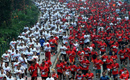 45,000 runners participate in Independence Day Run 2014 in Jakarta