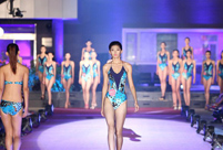 Tall girls shine at model competition