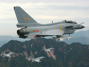 China's J-10 fighters