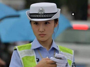 Photos of beautiful traffic policewoman go viral online