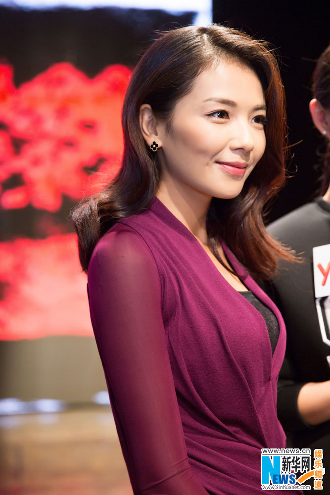 Actress Liu Tao Shows Up In New York Fashion Week 6