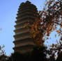 Small Wild Goose Pagoda - A World Cultural Heritage Site along the Silk Road