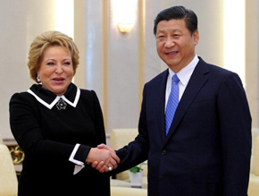 Chinese President & Premier call for expanded cooperation with Russia