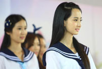 Who is China's campus beauty queen?