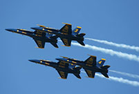 Blue Angels thrill spectators in San Francisco