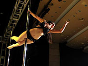 World Pole Dance Championship in China lowers the curtain