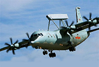 China-made military transport aircraft gets ready