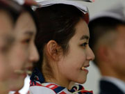 Students trained to become Miss Etiquettes in E China