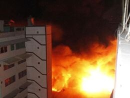 Flames engulf shopping mall in Sao Paulo, Brazil