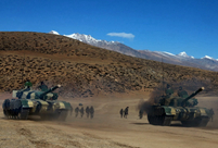 PLA conducts tactical drill in Tibet
