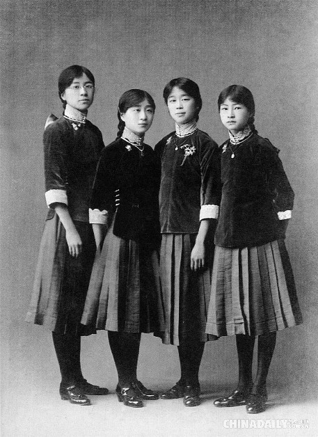 684961833 Evolution of school uniforms in China - People s Daily Online
