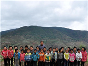 A school with only one teacher in deep mountains