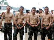 Special armed police attend 'devil trainings' in Hunan