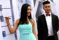 College graduates shining on the red carpet in Nanjing