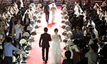 Mass wedding for North Korean defectors held in Seoul