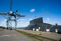 Typhoon class strategic Submarine in photos