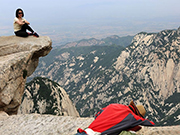 The most perilous peak: Huashan Mountain