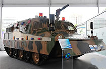 China-made special vehicles in exhibition
