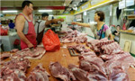 Soaring pork prices ease farmers' burden
