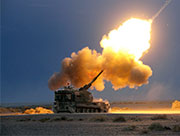New-type self-propelled gun fires in drill
