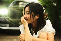 Beauty of Tsinghua University transforms into car model