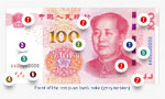 7 features on new 100-yuan RMB to fight counterfeiters