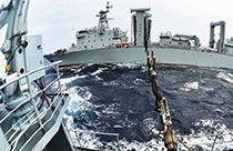 China and Russia hold joint drill in Sea of Japan