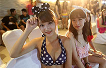 Blind date with bikini girls in Nanjing