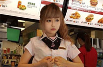'Goddess' in Taiwan McDonald's