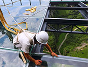 Asia's largest glass viewing platform to open soon